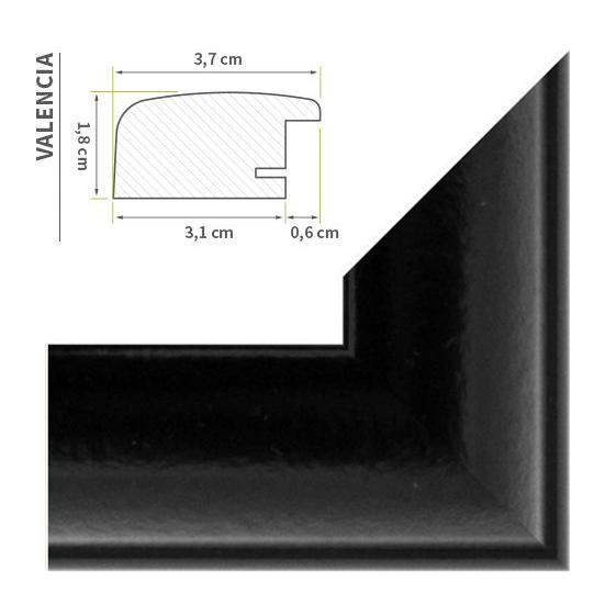 118 8 x 84 cm din a0 bilderrahmen posterrahmen 30 farben made in germany. Black Bedroom Furniture Sets. Home Design Ideas