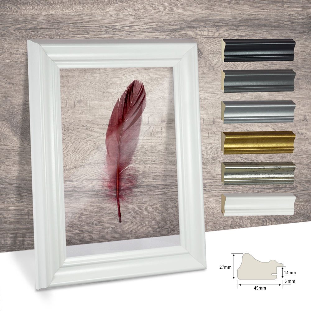 bilderrahmen doppelglas doppelverglasung 18x24 24x18 acrylglas durchsichtig ebay. Black Bedroom Furniture Sets. Home Design Ideas