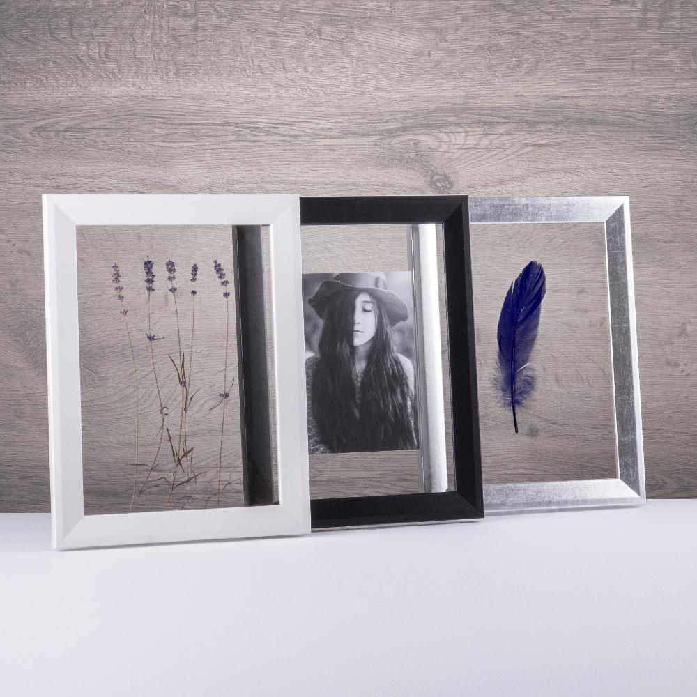 doppelglas rahmen durchsichtig ohne r ckwand mit acrylglas doppelverglasung neu ebay. Black Bedroom Furniture Sets. Home Design Ideas