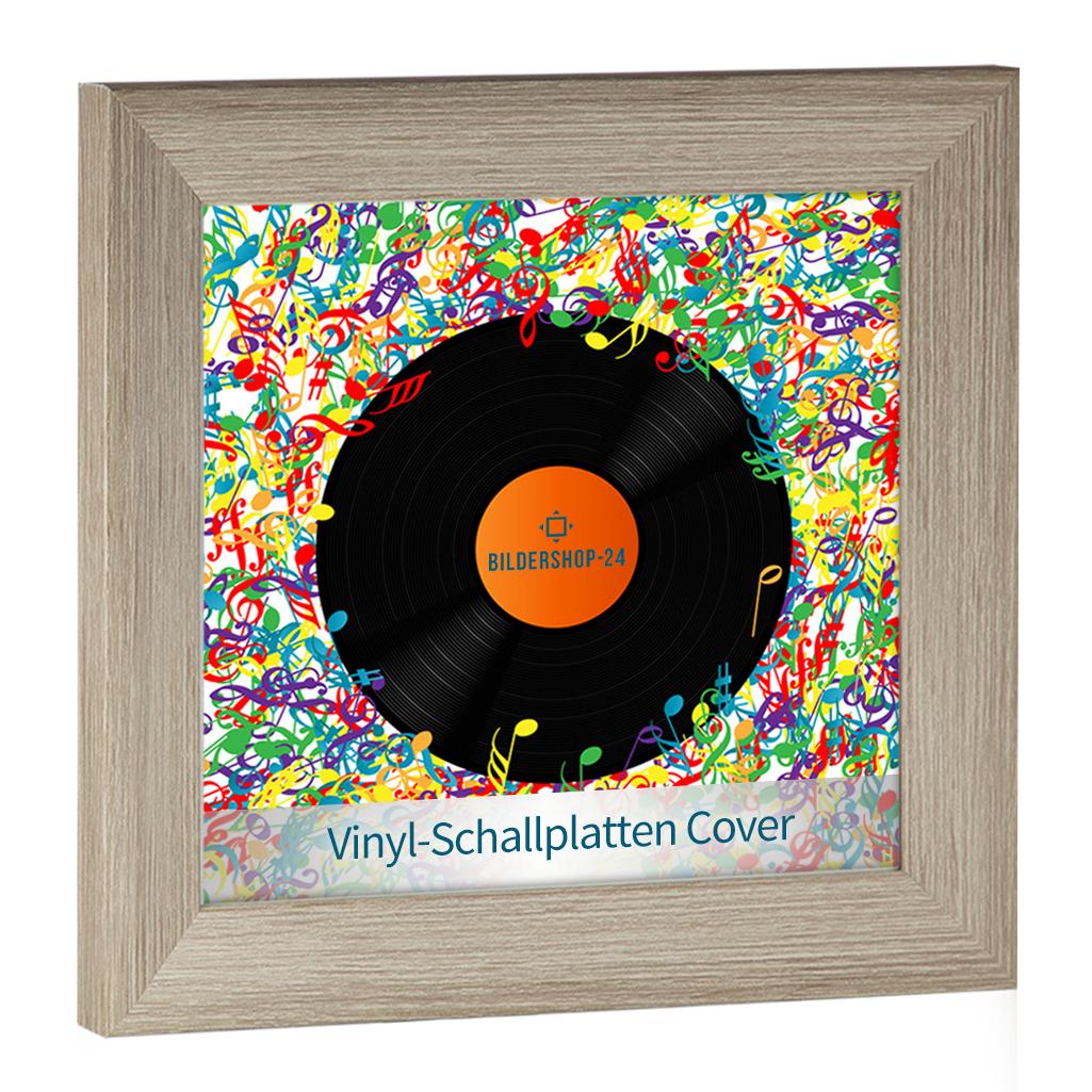 Rahmen für Schallplatte Schallplatten Cover Vinyl Frame Box NEU ...