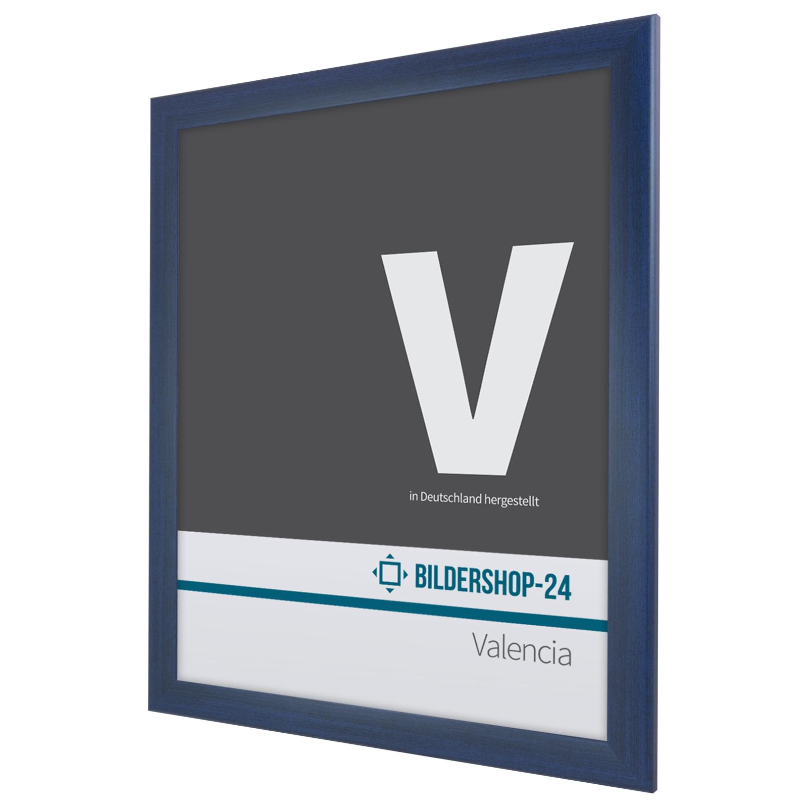 bilderrahmen valencia rahmen rot blau gr n 45x90 50x80 100x100 100x150 ebay. Black Bedroom Furniture Sets. Home Design Ideas