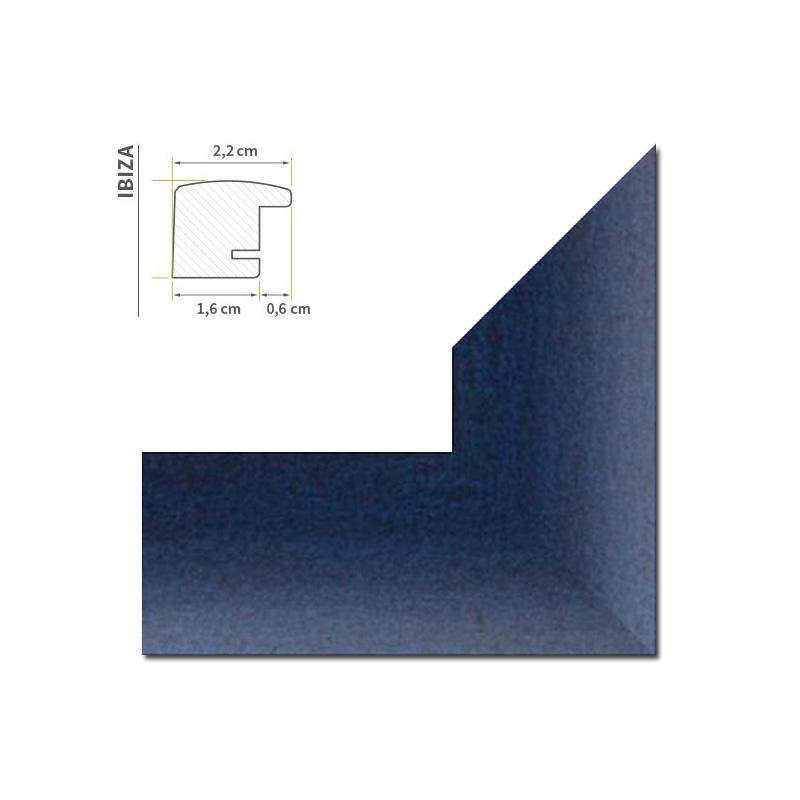 Bilderrahmen DÜNNE LEISTE in 45x60 in 13 Farben 60 x 45 cm Foto ...