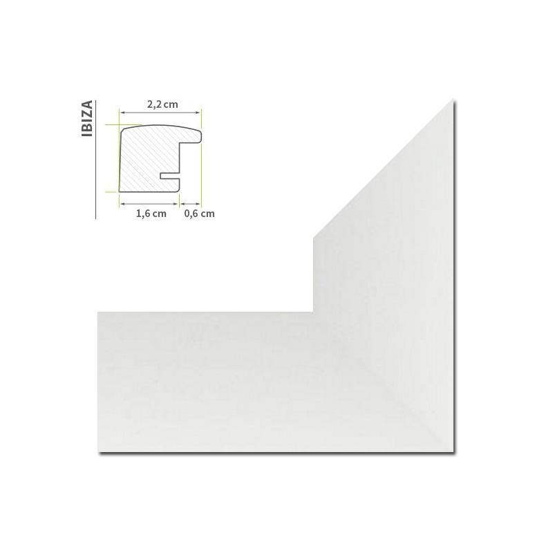 cadre photo blanc mince barre partir de 30x40 70x70cm photo poster galerie cadre ebay. Black Bedroom Furniture Sets. Home Design Ideas