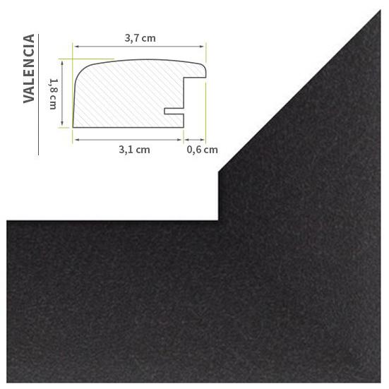 riesen bilderrahmen 60x120 70x100 80x100 80x120 30farben xxl jumbo rahmen poster ebay. Black Bedroom Furniture Sets. Home Design Ideas