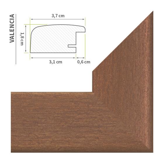 bilderrahmen kupfer rost neu moderne leiste beliebte gr en poster foto rahmen. Black Bedroom Furniture Sets. Home Design Ideas