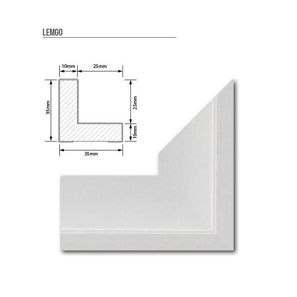 schattenfugen rahmen f r leinwand bilder keilrahmenbilder bis 150x50cm 7 farben ebay. Black Bedroom Furniture Sets. Home Design Ideas