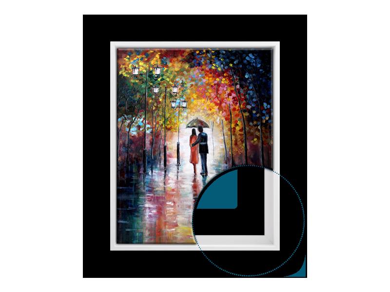 Bilderrahmen Panorama 20x60 40x120 50x150 in 30 Farben Galerie Foto ...