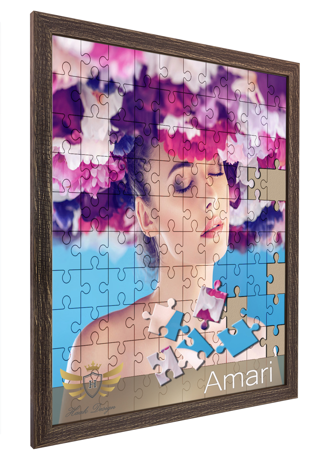 puzzlerahmen amari 6 farben viele gr en bilderrahmen f r puzzle holz g nstig ebay. Black Bedroom Furniture Sets. Home Design Ideas