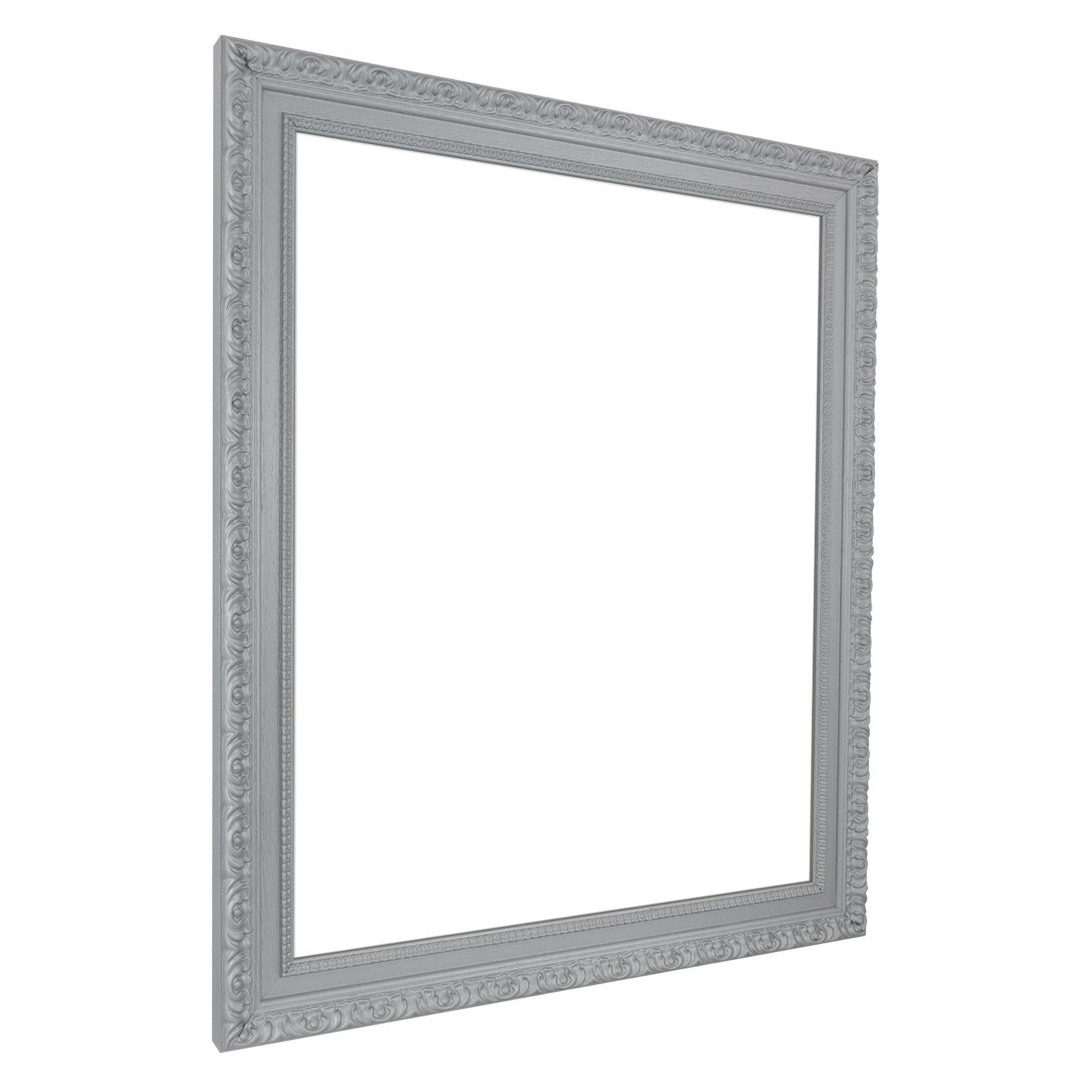Neu Wand Spiegel Rahmen 70 X 100 in Schwarz Weiß Silber Gold aus Holz  US36