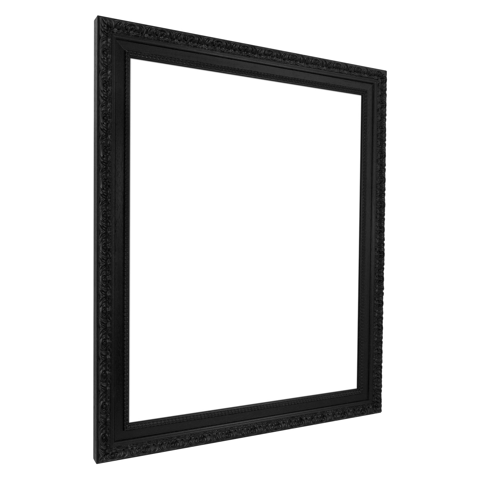 wand spiegel rahmen 70 x 100 in schwarz wei silber gold aus holz leerrahmen ebay. Black Bedroom Furniture Sets. Home Design Ideas