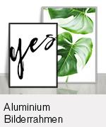 Aluminium Bilderrahmen