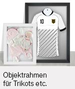Objektrahmen für Trikots, Blumen Passepartouts etc.