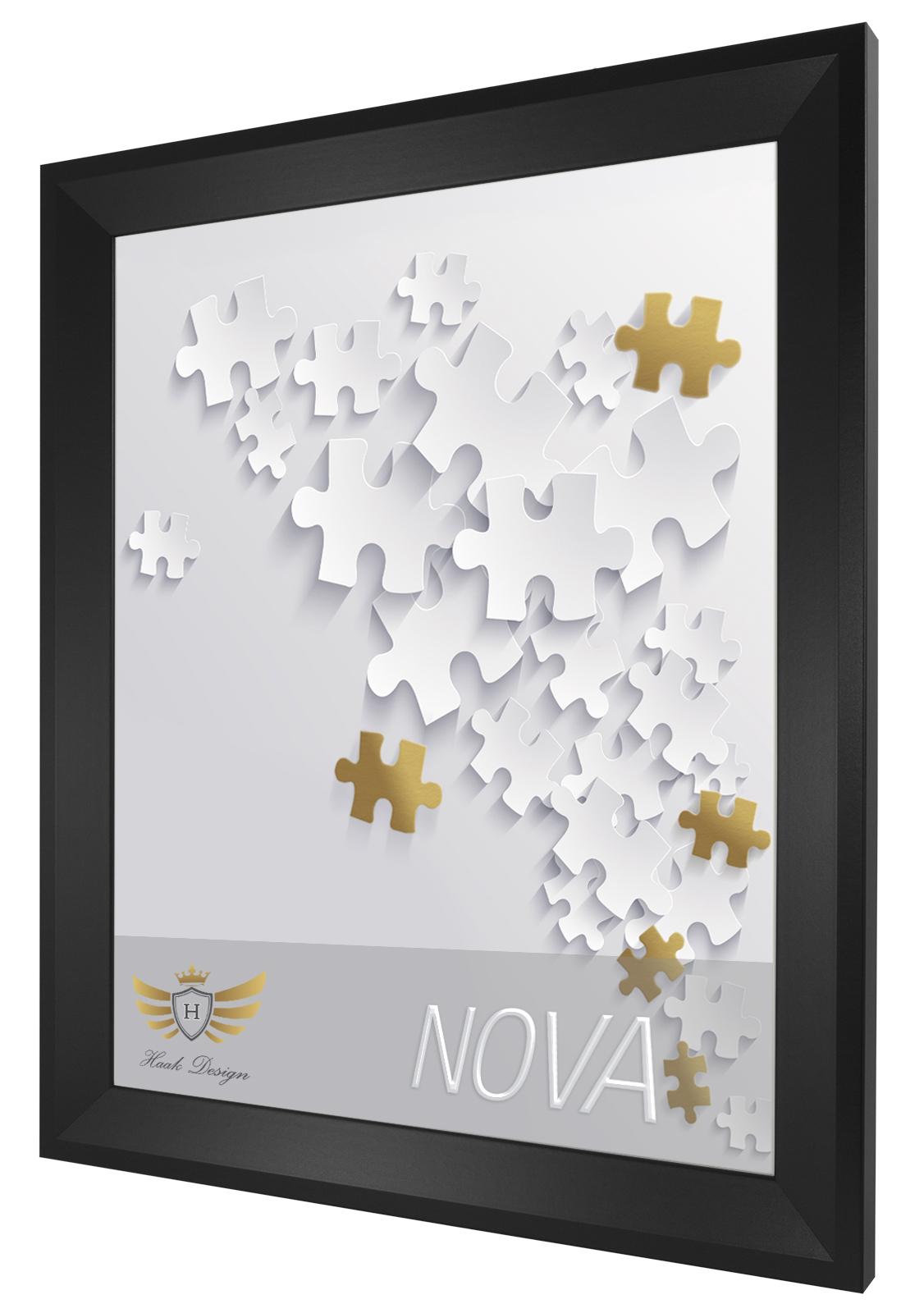 Puzzlerahmen NOVA 37,5x98 98x37,5 Bilderrahmen 10 Farben Rahmen ...