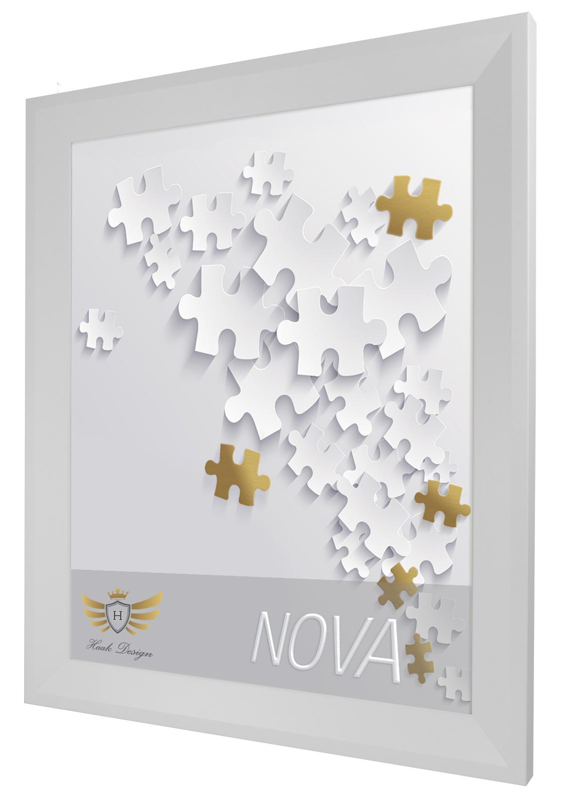 Puzzlerahmen NOVA 80x120 120x80 Bilderrahmen 10 Farben Rahmen Puzzel ...