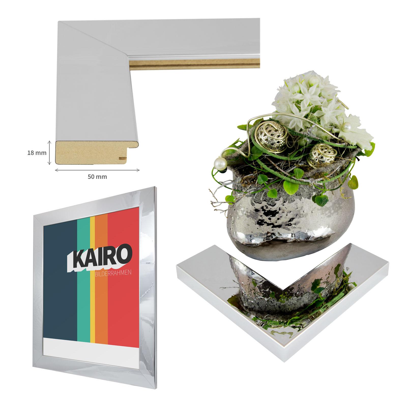 Bilderrahmen kairo 90x120 in schwarz weiss poster foto for Spiegel 90x120