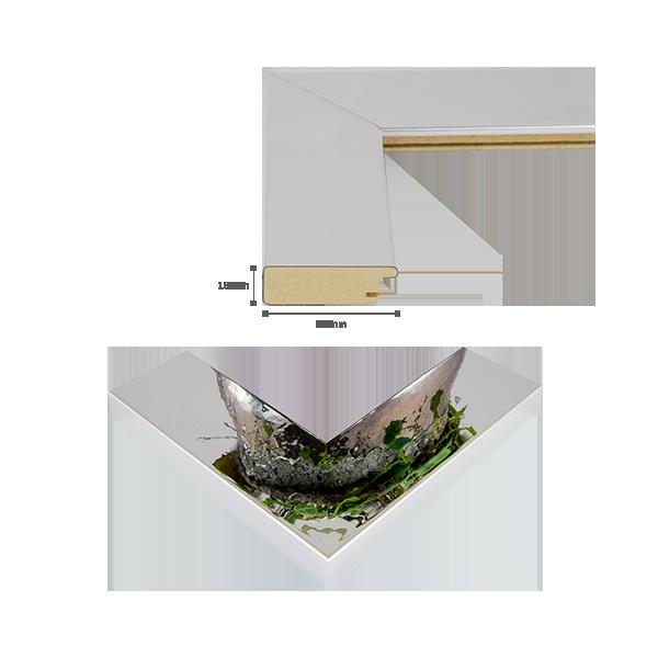 bilderrahmen kairo in schwarz wei alu geschliffen foto. Black Bedroom Furniture Sets. Home Design Ideas