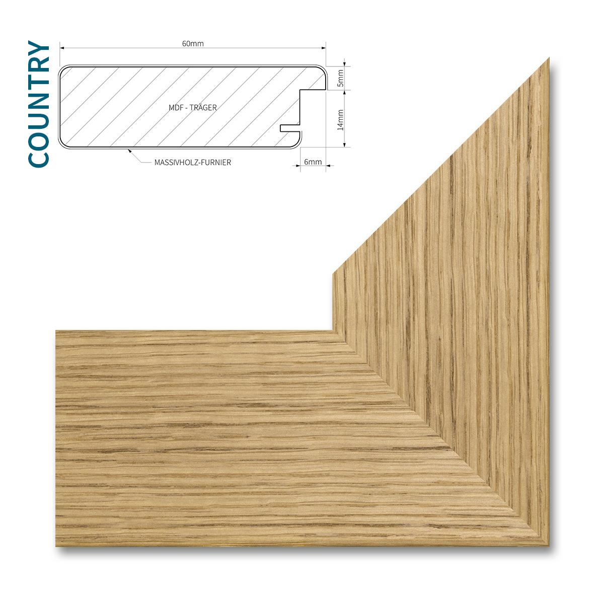 bilderrahmen mit echt holz furnier xl gr en galerie poster foto profil rahmen ebay. Black Bedroom Furniture Sets. Home Design Ideas