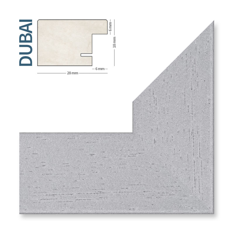 Bilderrahmen aus Holz DUBAI Schwarz Weiß Silber Eiche Foto Galerie ...
